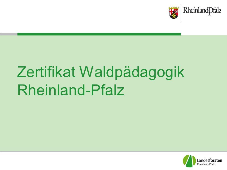 """Bäume des Waldes Zertifikat Waldpädagogik Rheinland-Pfalz Ausbildungsunterlagen zum Hauptmodul """"Forstliche und ökologische Grundlagen Thema: Heimische Baumarten Referent: Michael Veeck michael.veeck@wald-rlp.de"""
