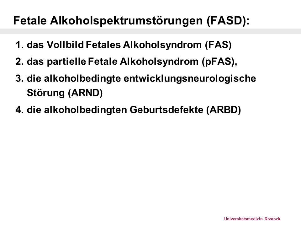 Universitätsmedizin Rostock Epidemiologie I Prävalenz FAS/FASD (May et al.