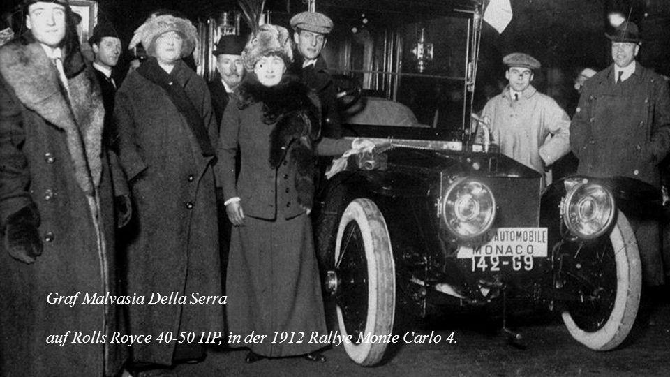 1907 – 1926 Rolls-Royce Silberner Geist