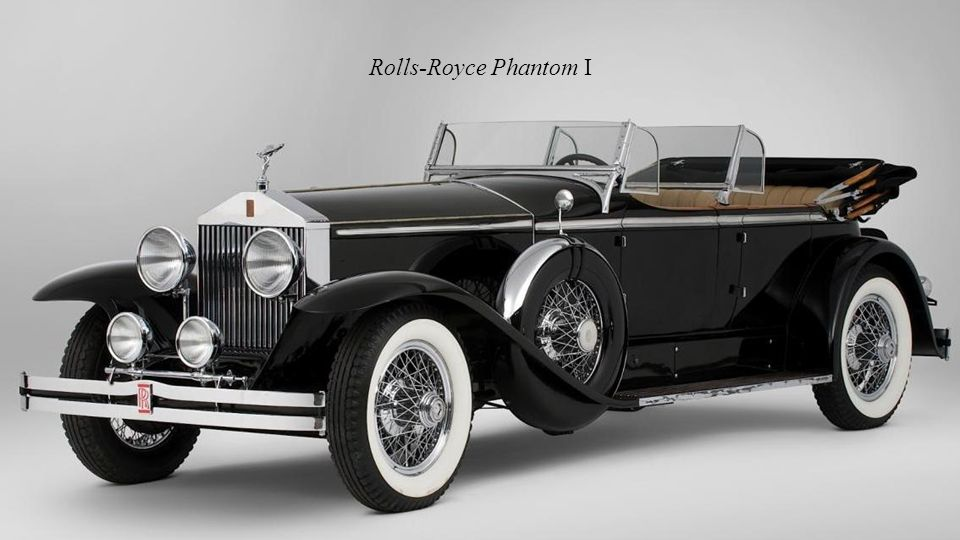 1925 – 1931 Rolls-Royce Phantom