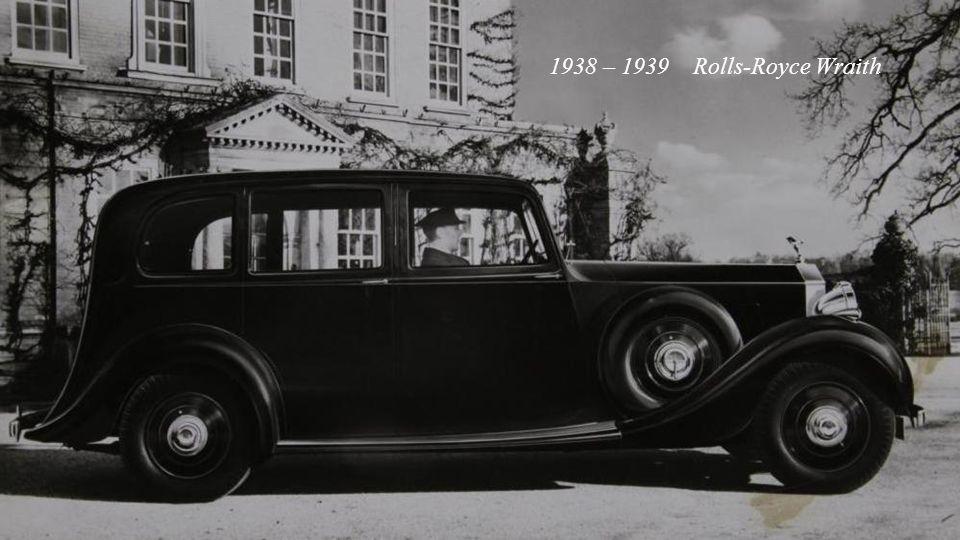 1935 – 1939 Rolls-Royce Phantom III