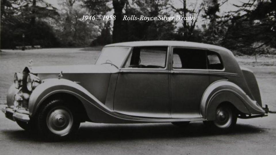 1938 – 1939 Rolls-Royce Wraith