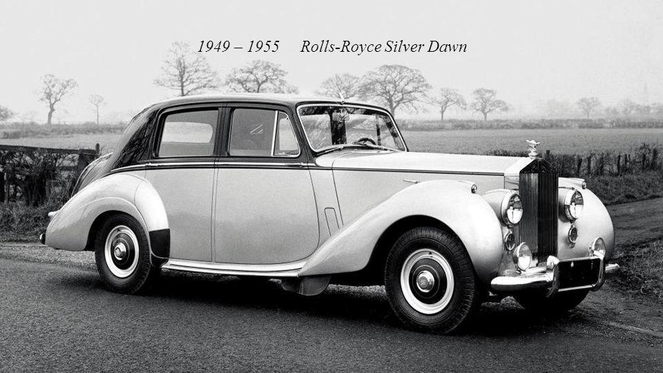 1946 – 1958 Rolls-Royce Silver Wraith