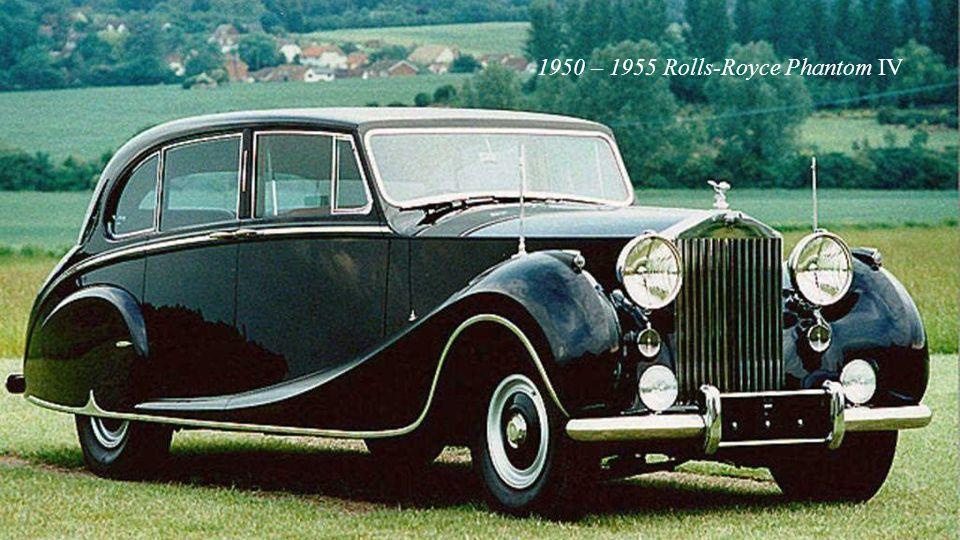 1949 – 1955 Rolls-Royce Silver Dawn