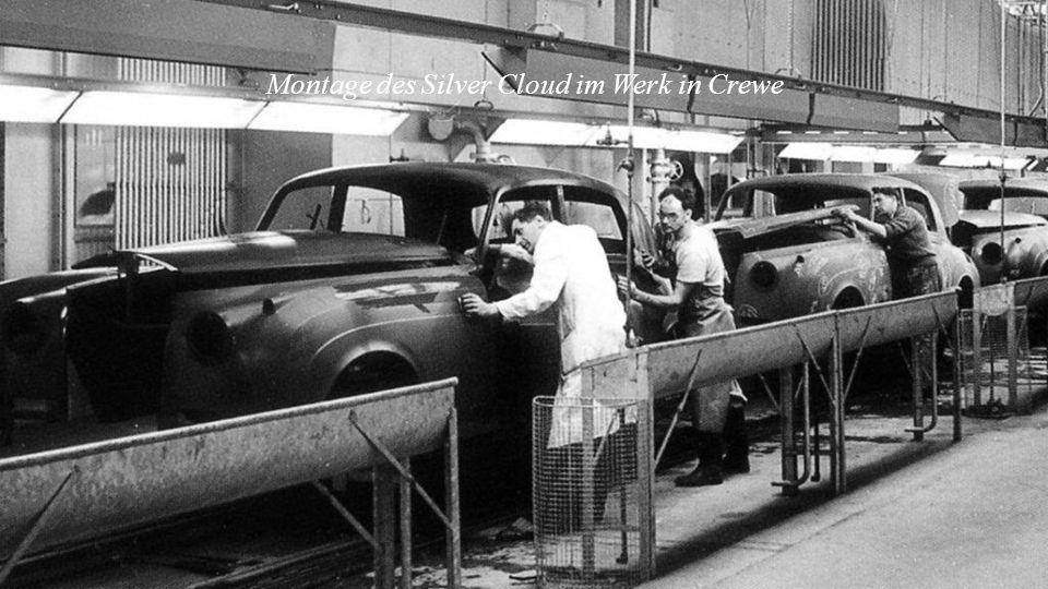 1950 – 1955 Rolls-Royce Phantom IV
