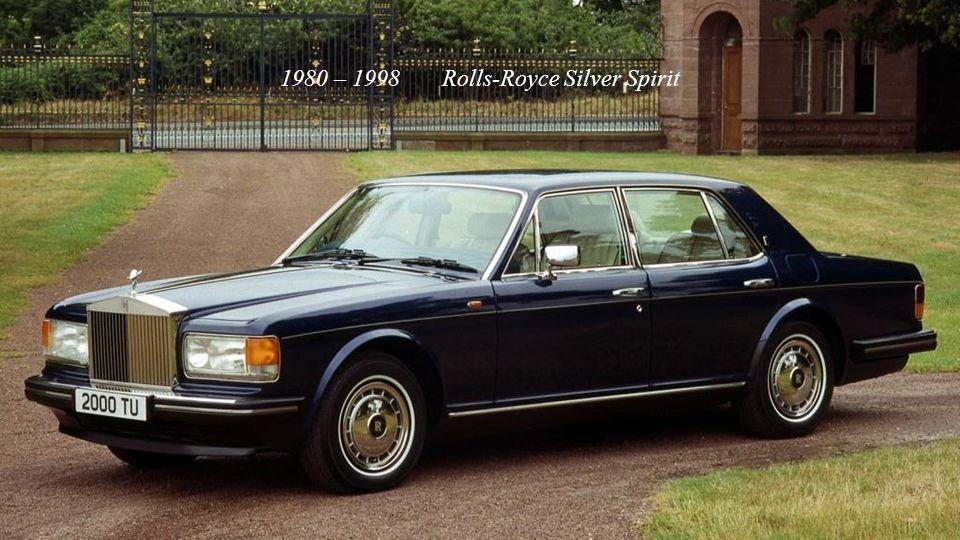 1975 – 1986 Rolls-Royce Camargue