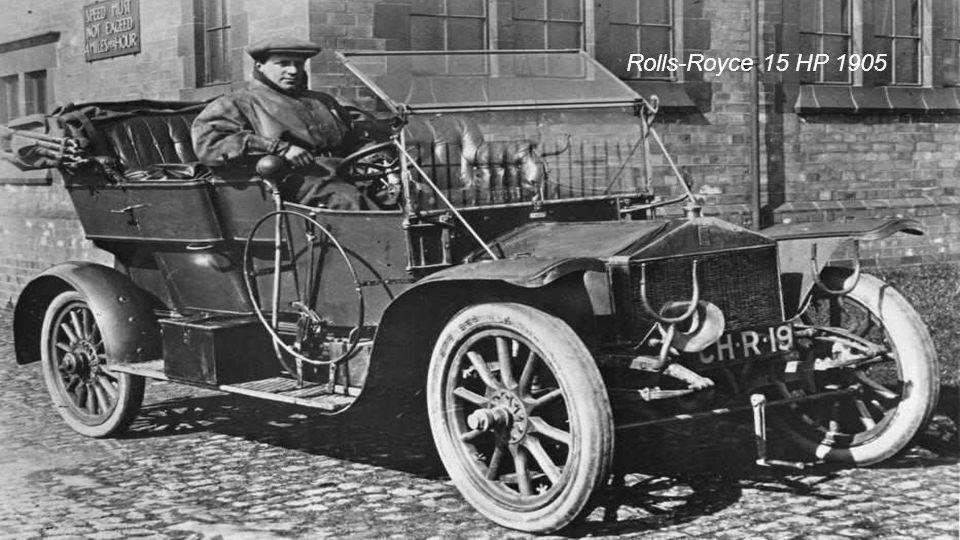 Charles Rolls und Henry Royce Unternehmen Rolls-Royce 1904