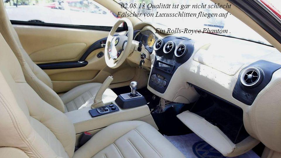 Rolls Royce Phantom Limousine von innen
