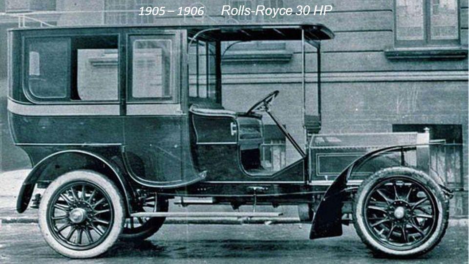 1905 3-Zylinder-Motor der 15HP