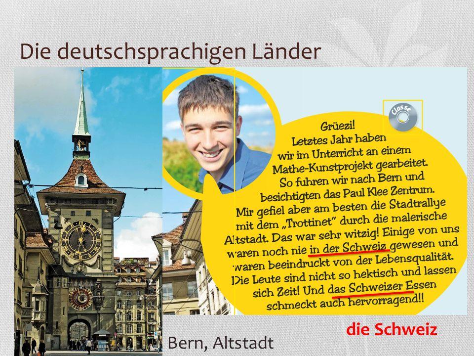 Die deutschsprachigen Länder Bern, Altstadt die Schweiz