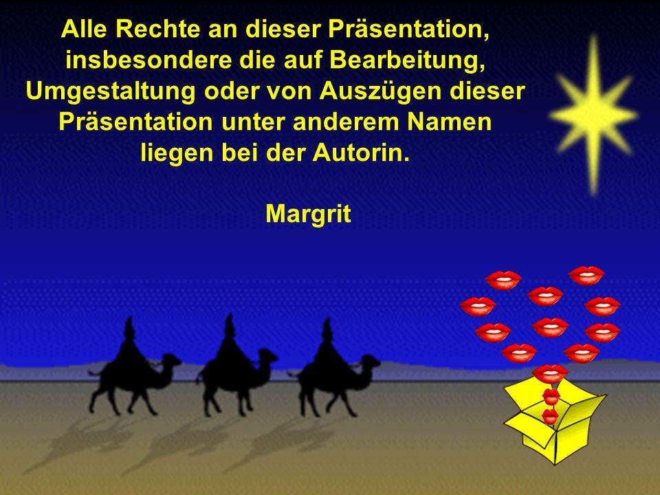 Möge uns alle der Stern von Bethlehem und das Geschenk vom Kind auf dem Weg durchs neue Jahr begleiten und uns mit seinem Licht Liebe, Vertrauen, Zuve