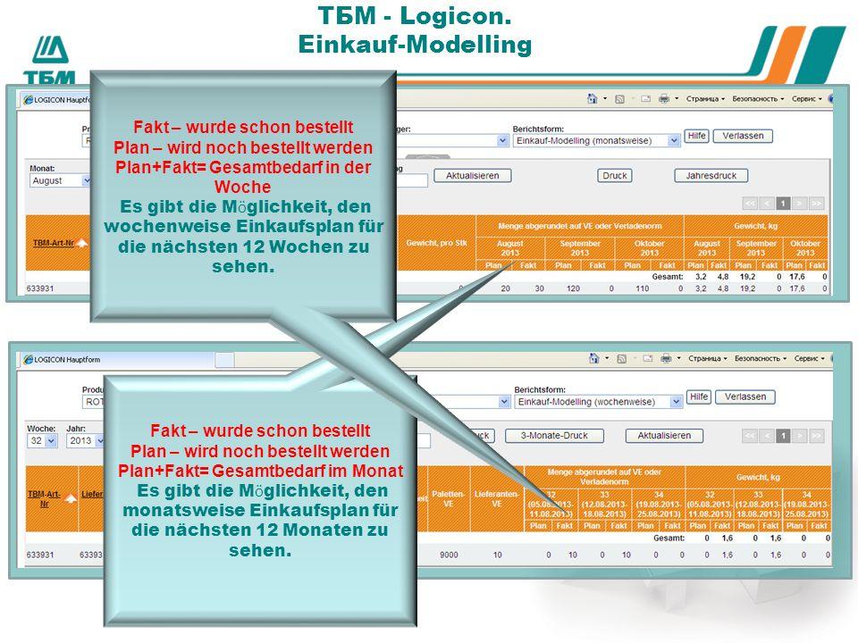 ТБМ - Logicon.