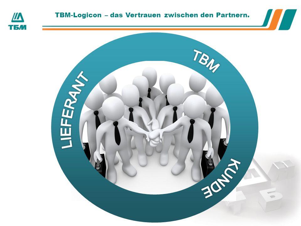 ТBМ-Logicon – das Vertrauen zwischen den Partnern.
