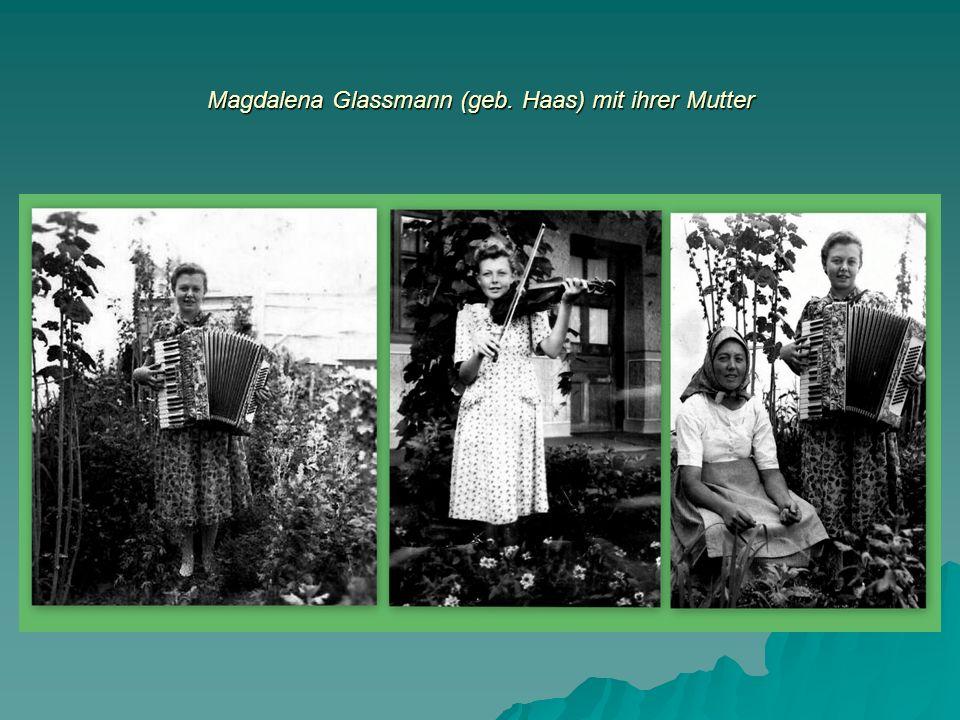 Drei Frauengenerationen: Leni Glassmann, Angelika und Fiona Stritt