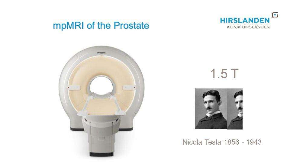Das multiparametrische MRI (mpMRI) der Prostata in der Primärdiagnostik: Senkung der Rate insignifikanter Tumore.
