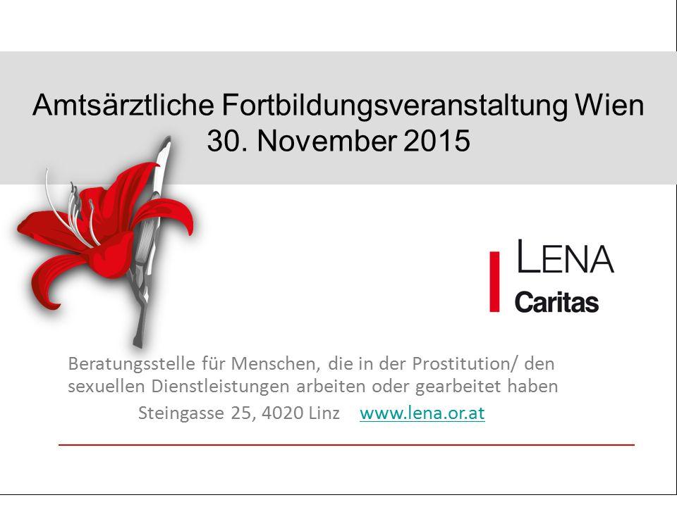 Amtsärztliche Fortbildungsveranstaltung Wien 30.