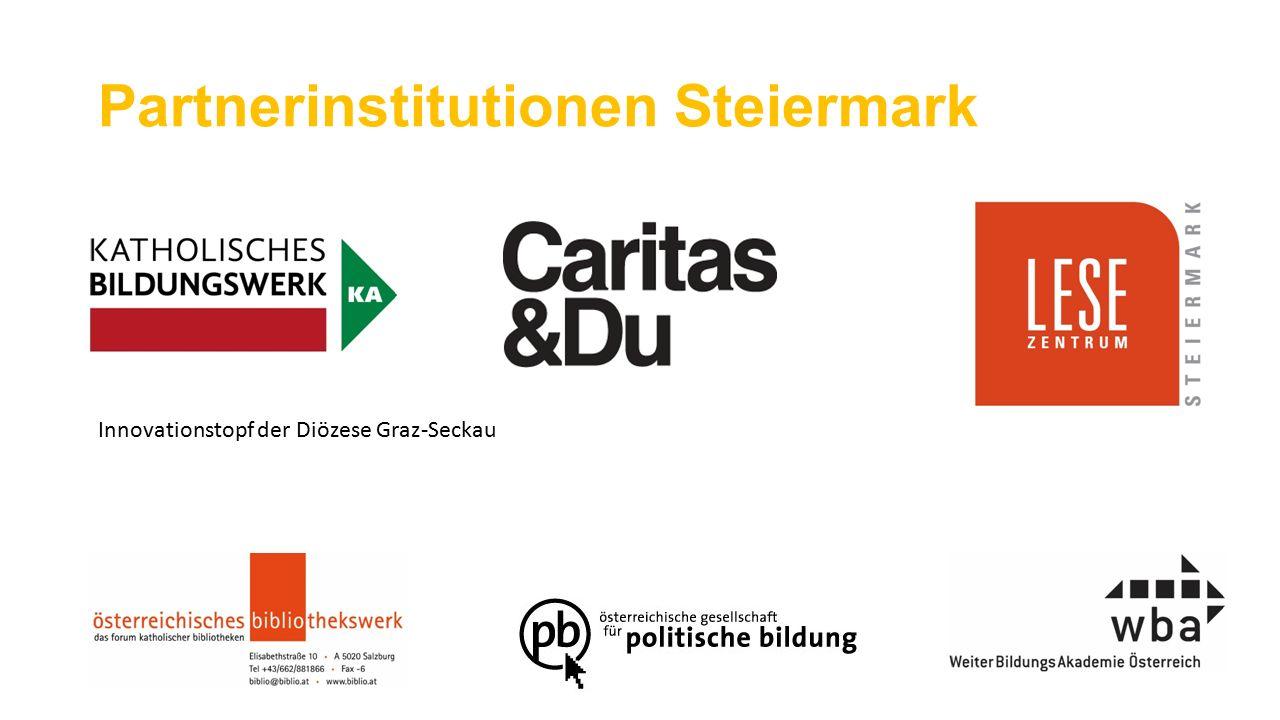 Partnerinstitutionen Steiermark Innovationstopf der Diözese Graz-Seckau
