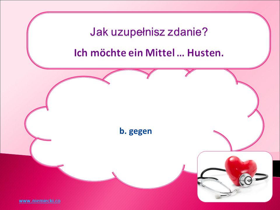 b. gegen www.niemiecki.co