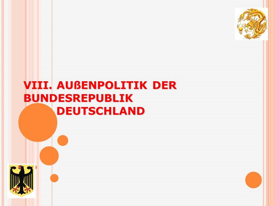 6. Kooperation zwischen Deutschland und der Republik China