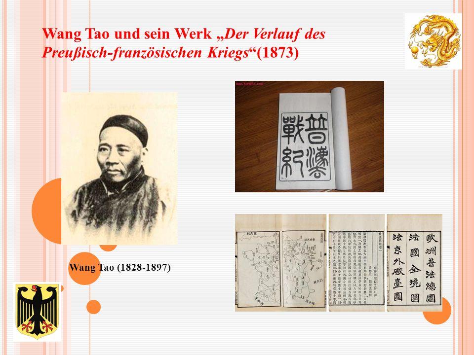 """Wang Tao und sein Werk """"Der Verlauf des Preußisch-französischen Kriegs""""(1873) Wang Tao (1828-1897)"""