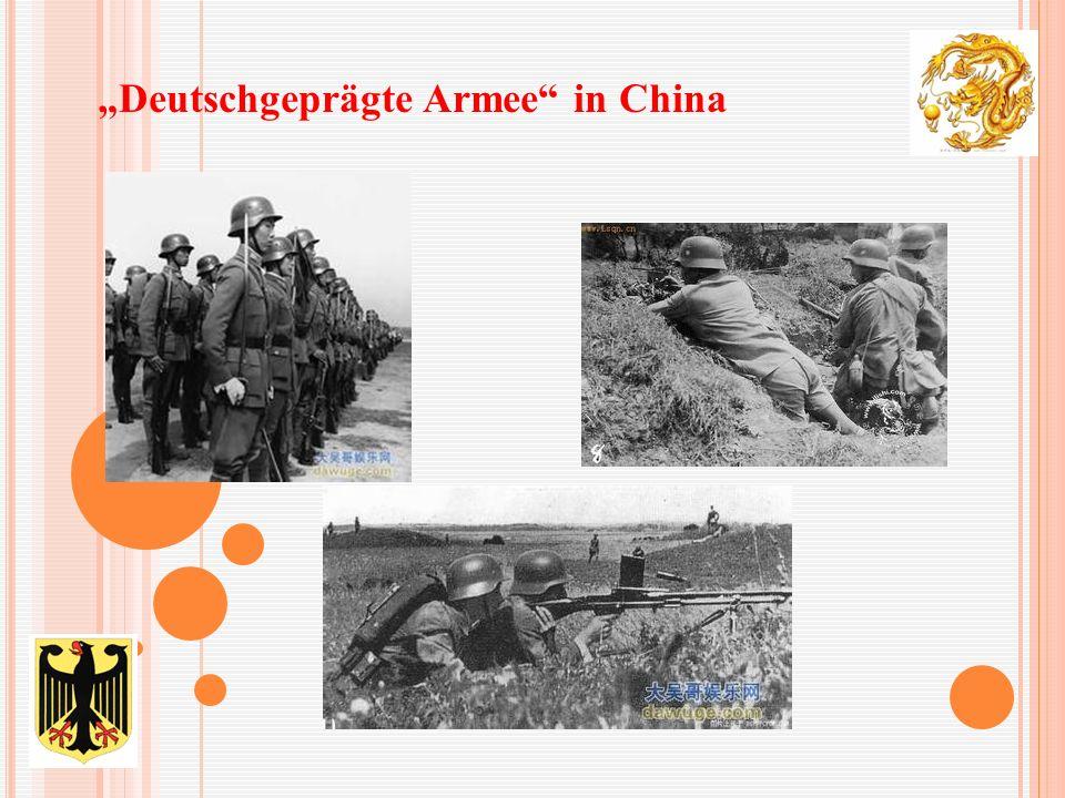 """Deutschgeprägte Armee in China"