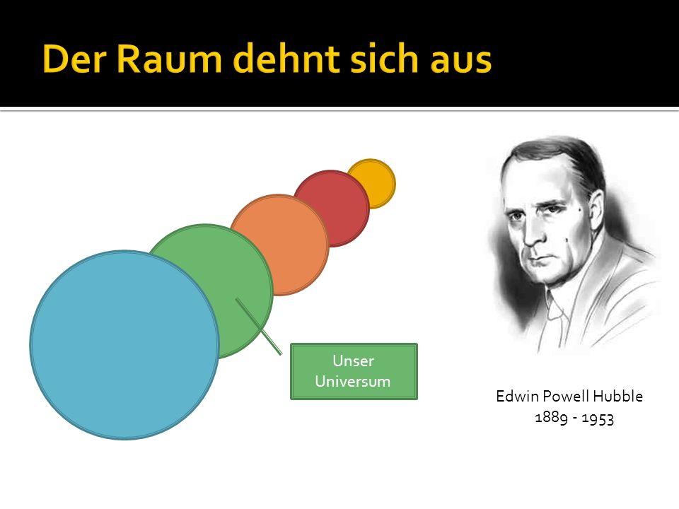 Edwin Powell Hubble 1889 - 1953 Unser Universum