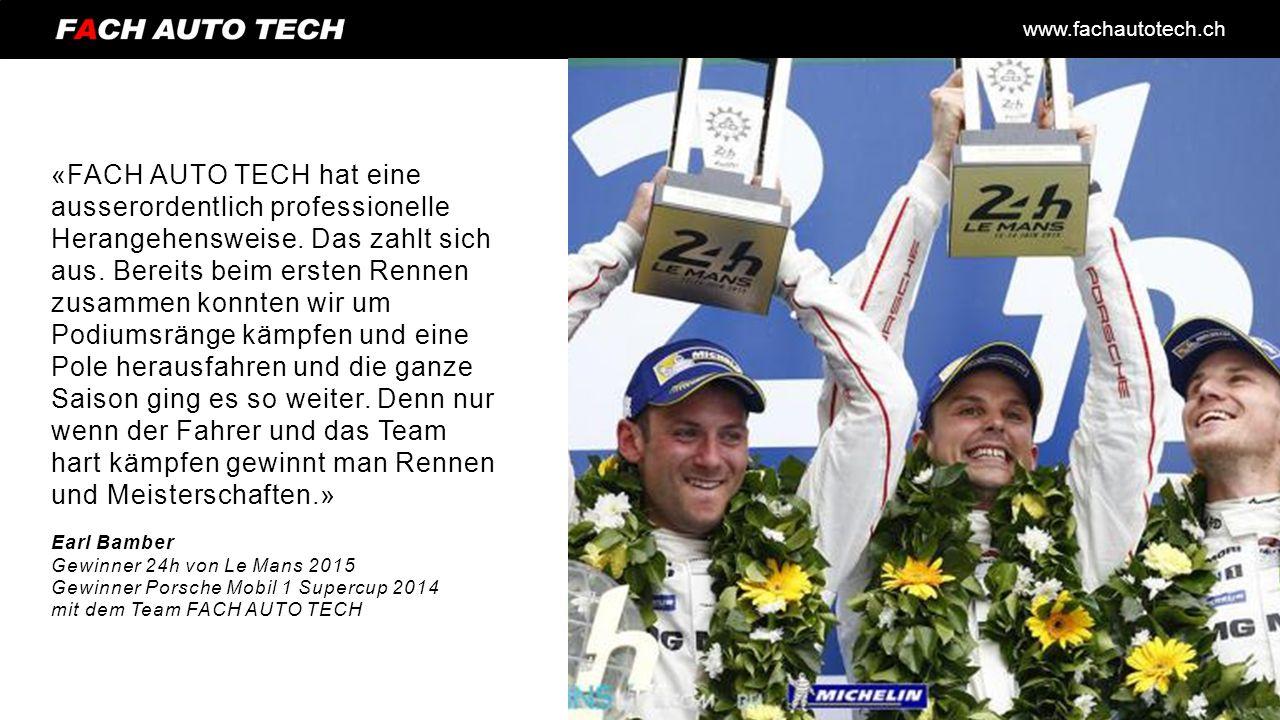 www.fachautotech.ch «FACH AUTO TECH hat eine ausserordentlich professionelle Herangehensweise.