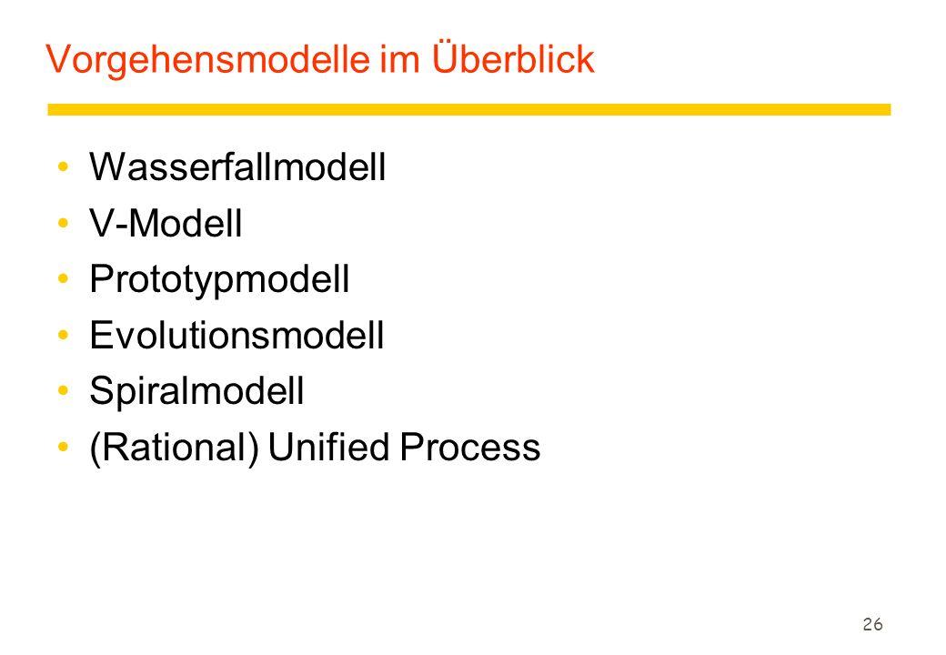 "25 ""Naives SWT-Grundmodell: Code & Fix zGrundmodell aus den Anfängen der Softwaretechnik: Code & Fix  Schreibe ein Programm."