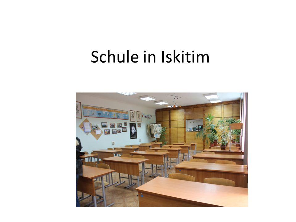 Schule in Iskitim