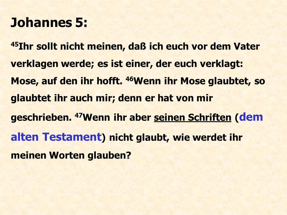 Johannes 5: 37 Und der Vater, der mich gesandt hat, hat von mir Zeugnis gegeben.