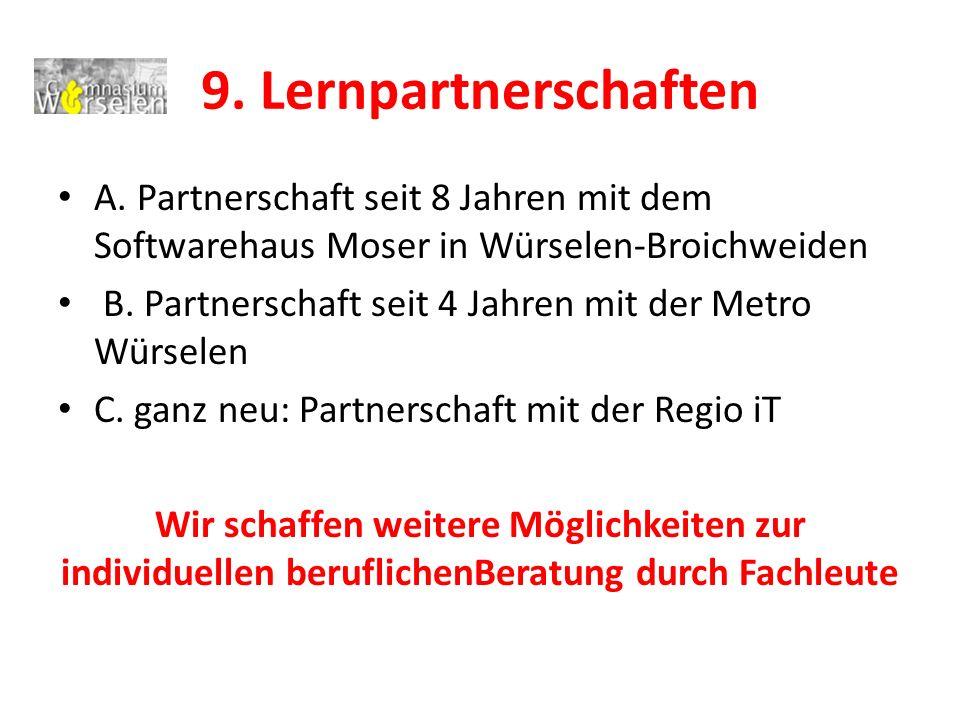 9.Lernpartnerschaften A.