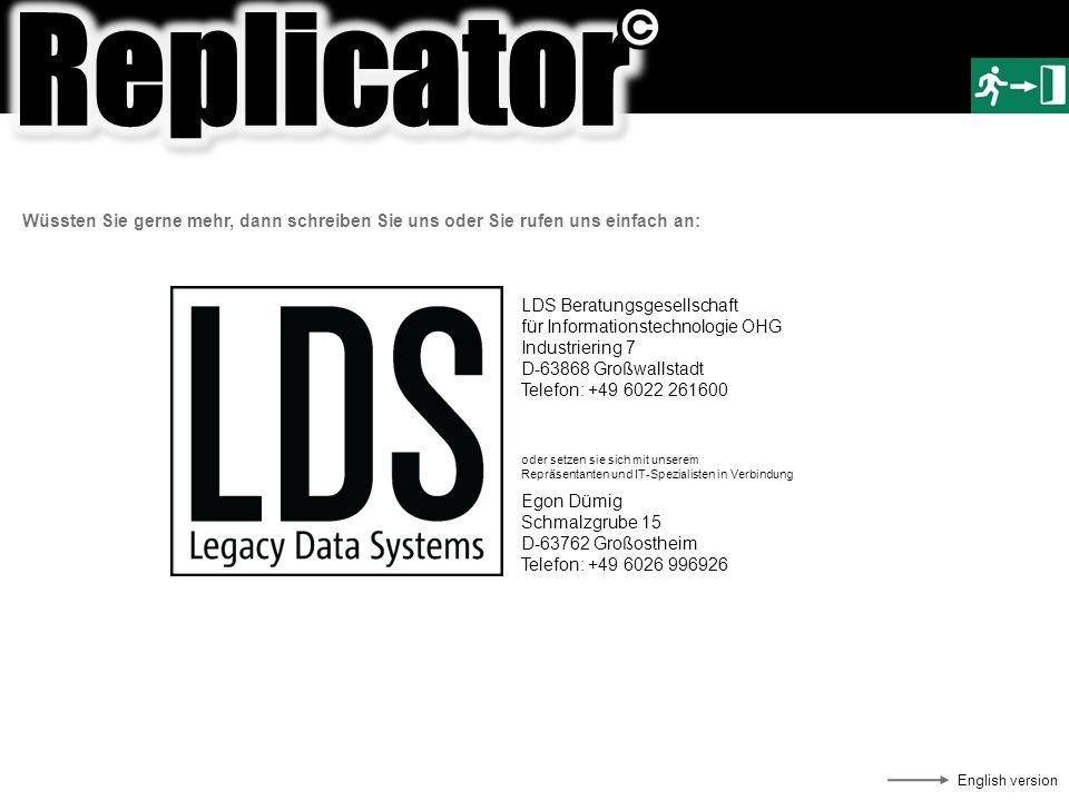 Wüssten Sie gerne mehr, dann schreiben Sie uns oder Sie rufen uns einfach an: LDS Beratungsgesellschaft für Informationstechnologie OHG Industriering