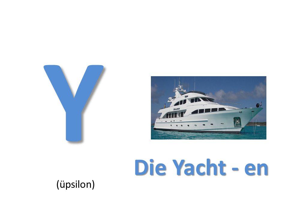 Y (üpsilon) Die Yacht - en