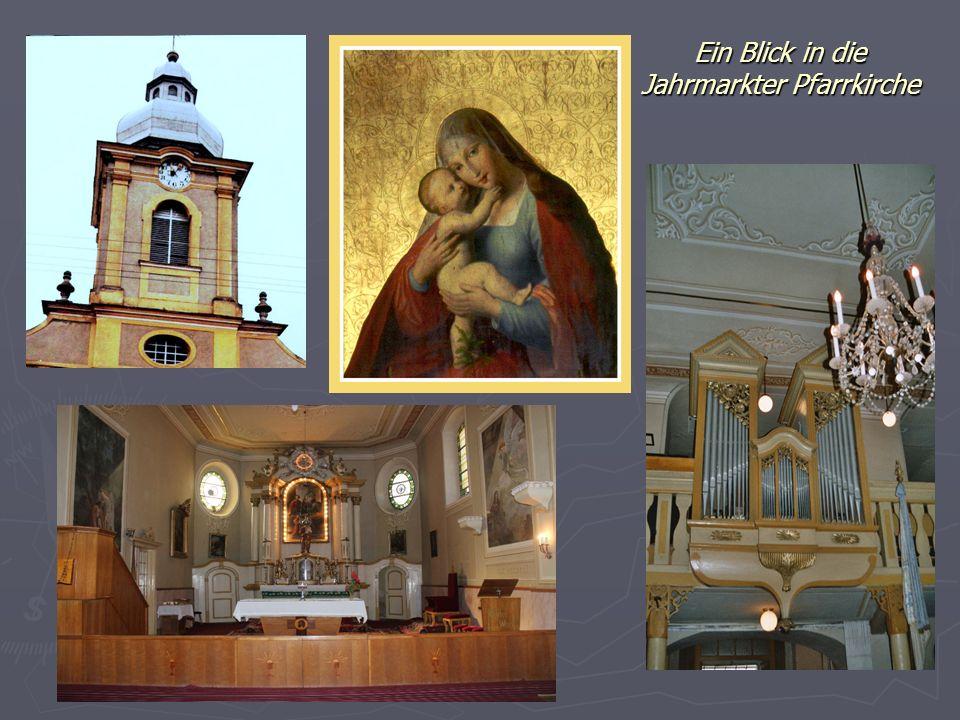 Ein Blick in die Jahrmarkter Pfarrkirche