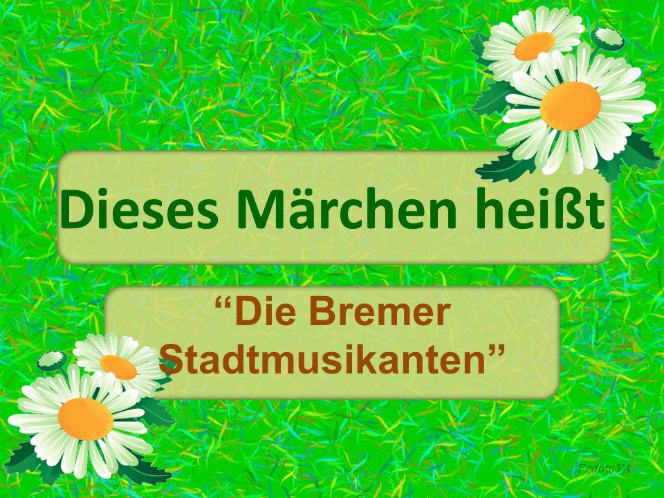 """FedotoVA Dieses Märchen heißt """"Die Bremer Stadtmusikanten"""""""