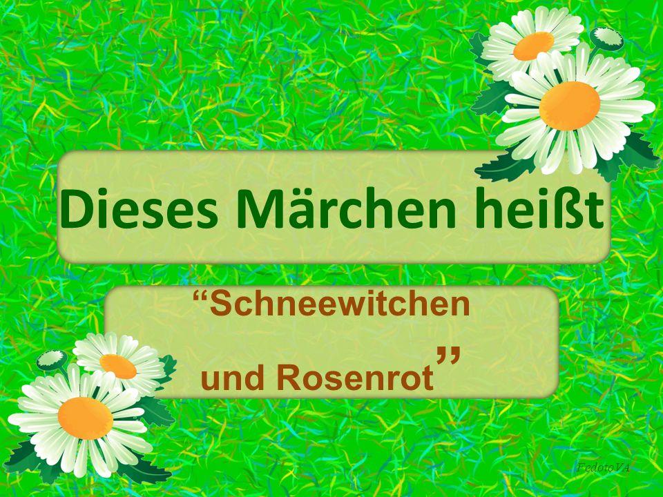 """FedotoVA Dieses Märchen heißt """"Schneewitchen und Rosenrot """""""