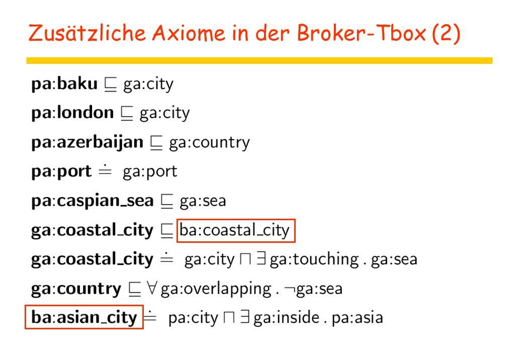 Zusätzliche Axiome in der Broker-Tbox (2)