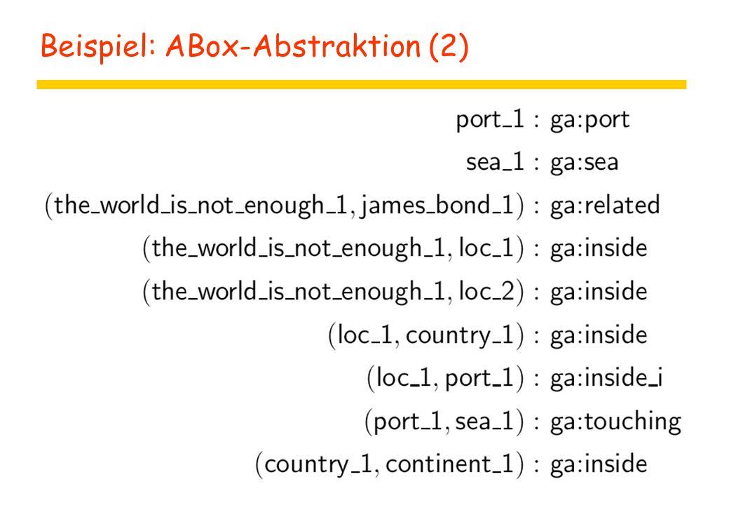 Beispiel: ABox-Abstraktion (2)