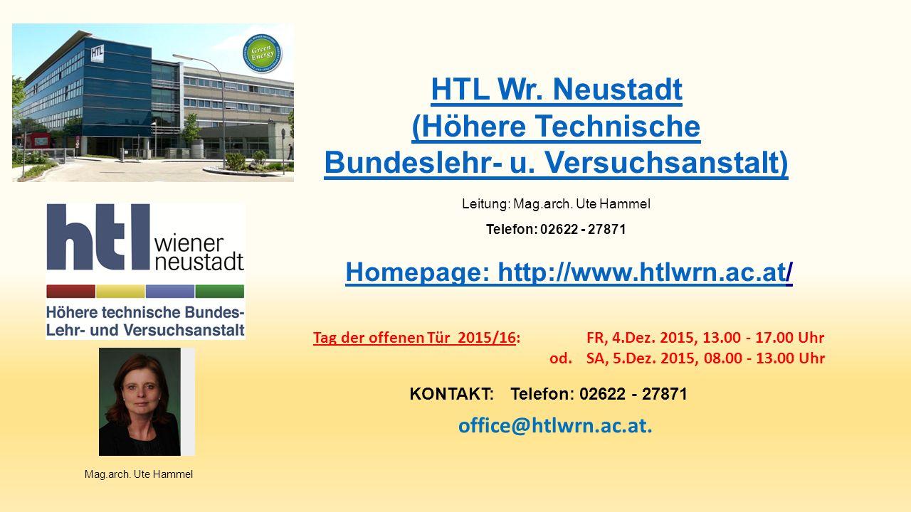 HTL Wr. Neustadt (Höhere Technische Bundeslehr- u.