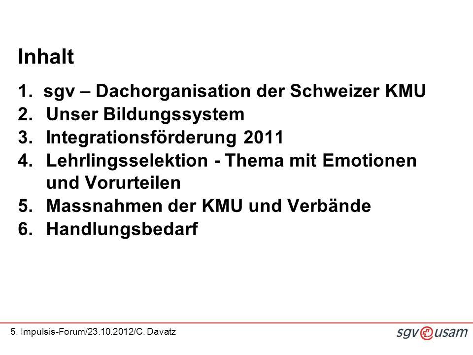 5.Impulsis-Forum/23.10.2012/C. Davatz 1.