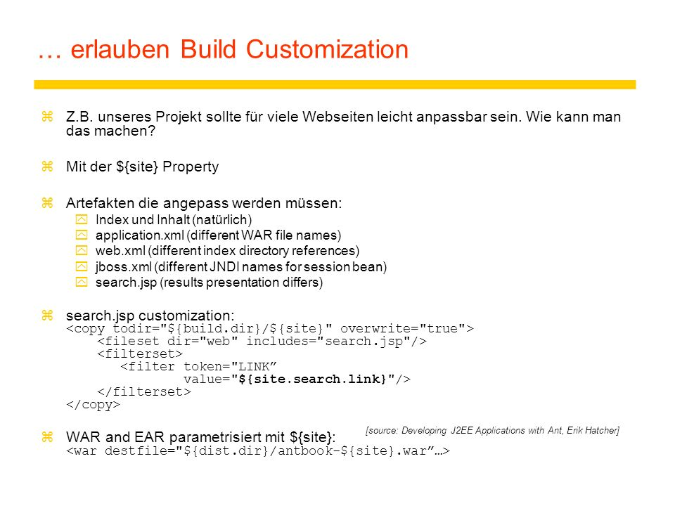 … erlauben Build Customization zZ.B.