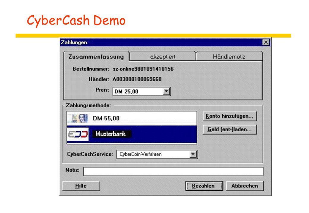 CyberCash Demo