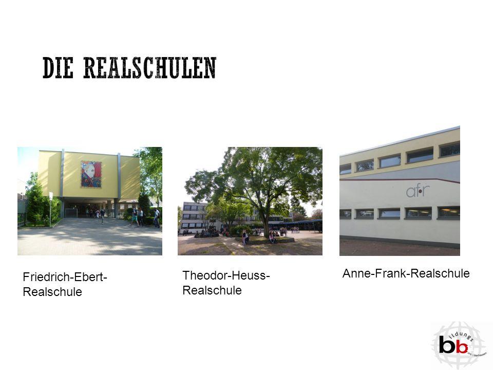 Friedrich-Ebert- Realschule Theodor-Heuss- Realschule Anne-Frank-Realschule 11