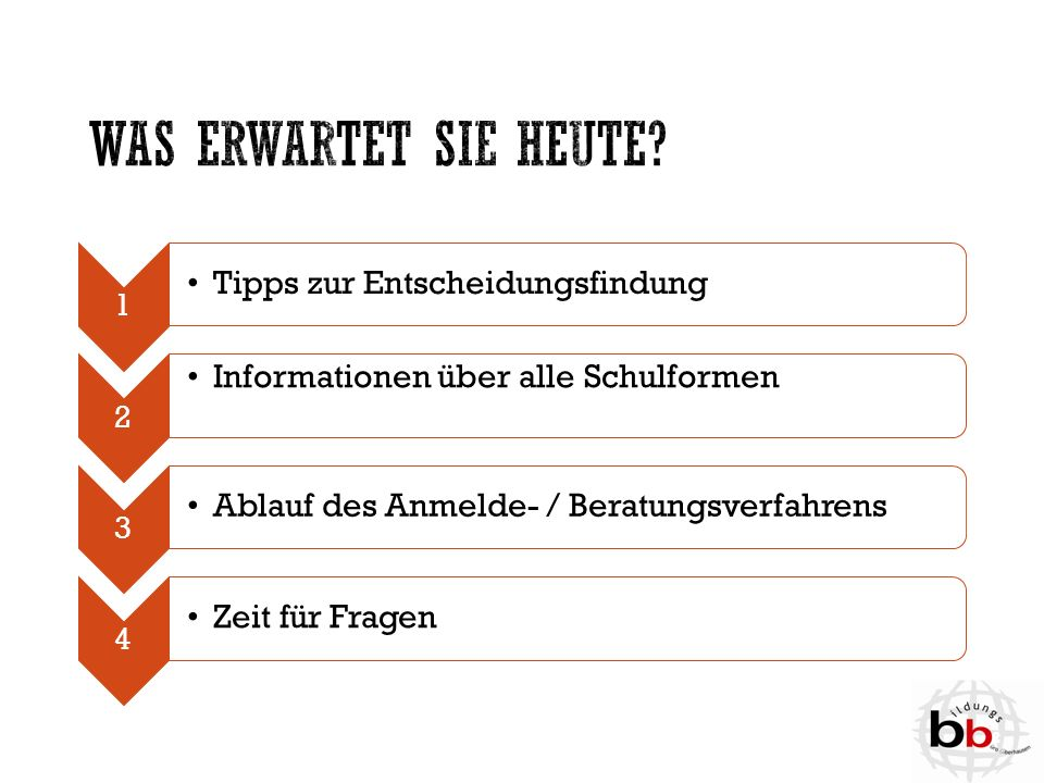 Erprobungsstufe  Empfehlung für die Realschule  Evtl.