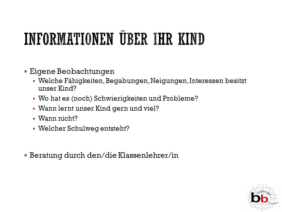  Für Kinder und Jugendliche, die nach Oberhausen ziehen und nur wenig oder gar kein Deutsch können, werden Internationale Vorbereitungsklassen (IVKs) eingerichtet.