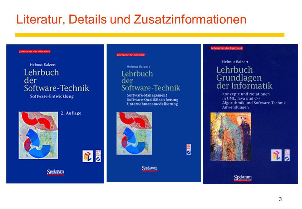3 Literatur, Details und Zusatzinformationen