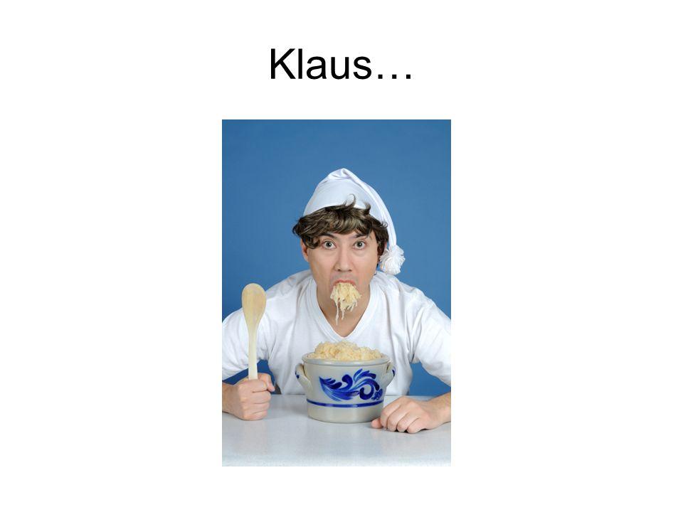 Klaus…