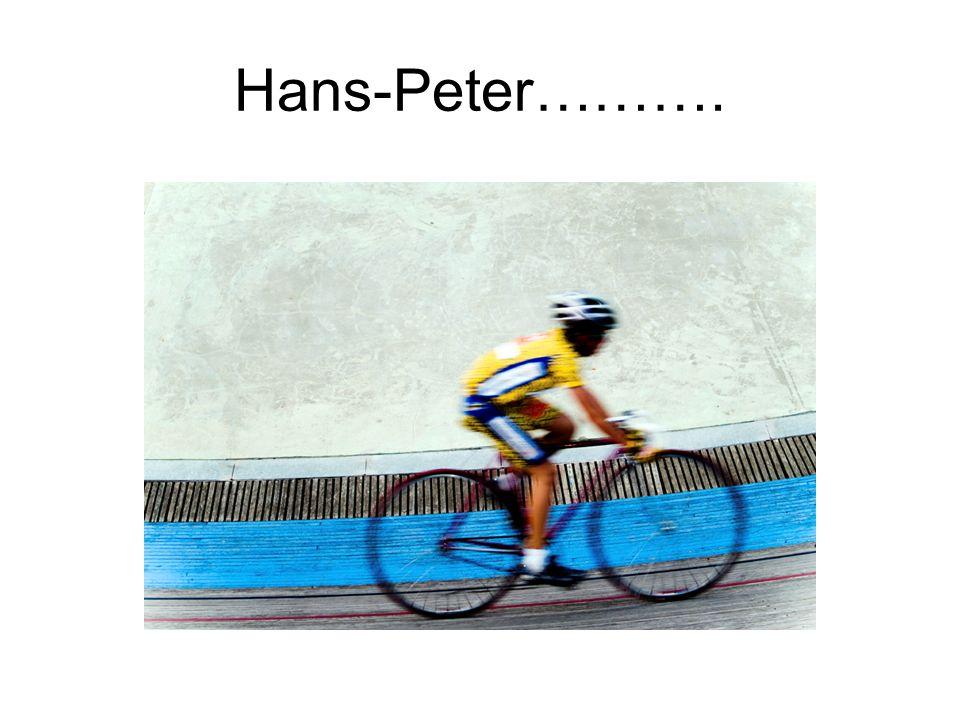 Hans-Peter……….