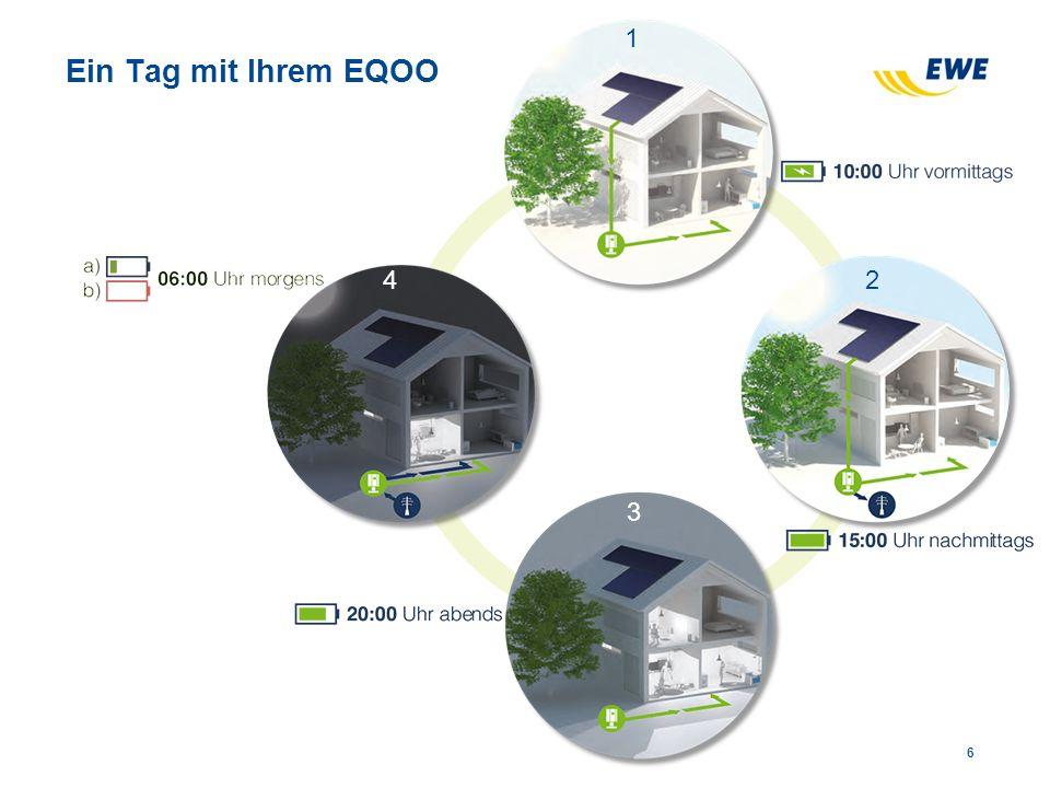 Unser erster Kunde, Herr Titgemeyer, ist begeistert Inbetriebnahme des ersten EQOO Hausspeichersystems am 28.05.2014.