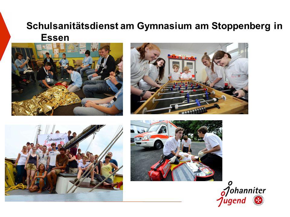 Schulsanitätsdienst am Gymnasium am Stoppenberg in Essen